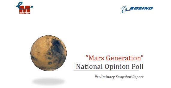 mensen naar Mars onderzoek