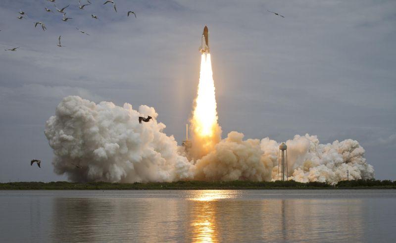 Live verslag lancering Atlantis